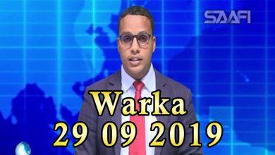 Photo of WARKA 29 09 2019 Ciidamada Kenya oo baadigoob ugu jira sarkaal Shabaab ka tirsanaa oo dowlada Soomaaliya siideysay