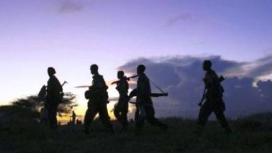 Photo of Al-Shabaab Militants Storm Somali Military Base