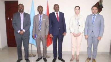 Photo of Delegation From Germany Visits Southwest State Of Somalia