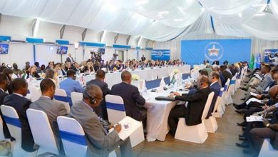 Photo of Representatives from 50 countries gather in Mogadishu for partnership conference