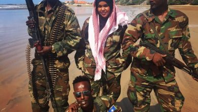 Photo of At 26, she is the youngest female captain leading over 90 men to fight against Al-Shabab in Somalia