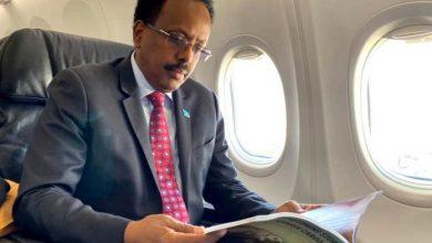 Photo of President Farmajo Leaves Mogadishu For Russia-Africa Summit