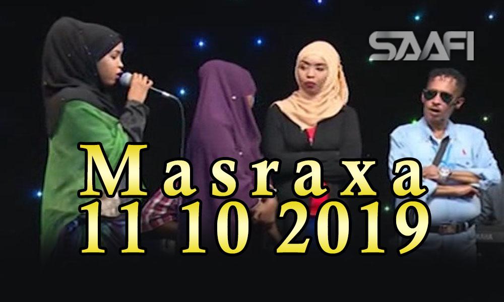 MASRAXA FURAN 11 10 2019 Majaajilo qosol iyo dhalinyaro codkooda iyo heesahooda tijaabinaya