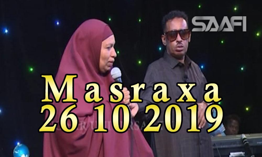 MASRAXA FURAN 25 10 2019 Majaajilo qosol iyo dhalinyaro codkooda iyo heesahooda tijaabinaya