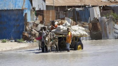 Photo of About 140,000 People Flee Floods In Central Somalia