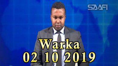 Photo of WARKA 02 10 2019 Shir weynihii caalamka iyo Soomaaliya oo magaalada Muqdisho lagu soo gabogabeeyey