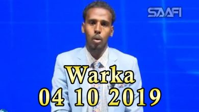 Photo of WARKA 04 10 2019 Soomaaliya oo diiday in markale dib loo dhigo dacwada badda Soomaaliya ay Kenya rabto in ay qaadato