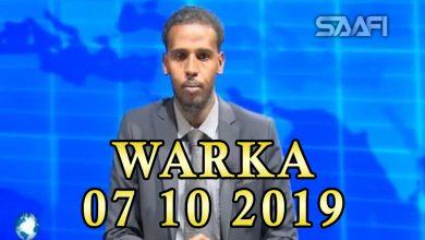 Photo of WARKA 07 2019 Xukuumada Soomaaliya oo daahfurtay qaabka wadashaqeynta wasaarada maaliyada iyo bangiga dhexe
