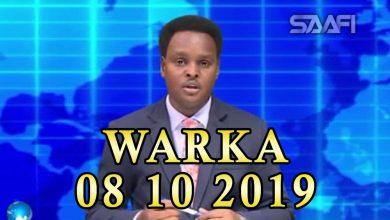 Photo of WARKA 08 10 2019 Roobab lagu diirsaday oo ka da'ay deegaano ka tirsan gobolada dhexe ee Galmudug