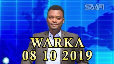 Photo of WARKA 08 10 2019 gudiga madaxa banaan ee doorashooyinka oo shaaca ka qaaday in ay dhib ku qabaan xafiiskooda ku yaala madaxtooyada