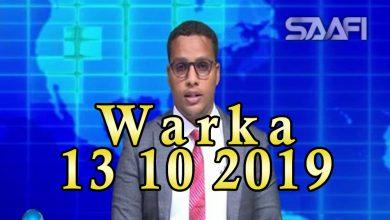 Photo of WARKA 13 10 2019 Siyaasiga Salaad Cali Jeele oo sixun u aflagaadeeyey madaxdii ka qeybgashay caleemo saarkii madaxweyne Axmed Madoobe