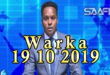 Photo of WARKA 19 10 2019 Baarlamaanka aqalka hoose oo saxafada xorta ah ka mamnuucay in ay wax kasoo tabiso gudaha fadhiga