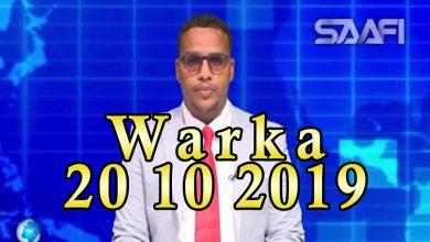 Photo of WARKA 20 10 2019 Gudoomiyihii Warta Nabada oo kasoo kabatay dhawaacii kasoo gaaray qaraxii xarunta dowlada hoose oo ka hadashay xaaladeeda