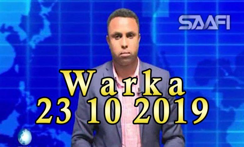 Photo of WARKA 23 10 2019 Gudigii doorashooyinka Galmudug ee dowlada ay magacawday oo Dhuusomareeb gaaray