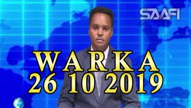 Photo of WARKA 26 10 2019 Madaxweyne Deni oo hortagay baarlamaankiisa suaalo kululna ka jawaabay