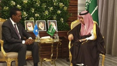 Photo of Somalia's Foreign Minister Meets With His Saudi Counterpart