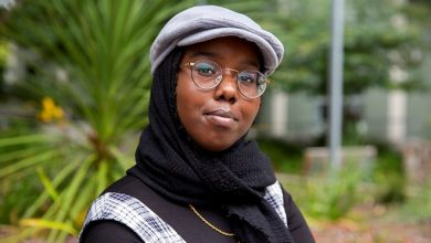 Photo of Somali American student uses slam poetry to speak out against injustice