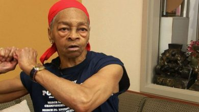 Photo of Female bodybuilder, 82, beats home intruder so badly he had to be taken to hospital
