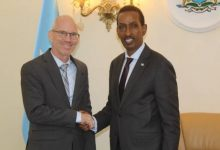 Photo of Foreign Minister Reviews With UN Envoy On Somali Political Track