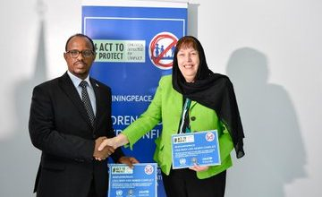 Photo of Somalia Inks Roadmap To End Recruitment, Use Of Child Soldiers