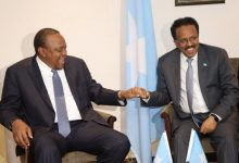 Photo of Somali President Meets With His Kenyan Counterpart In Nairobi