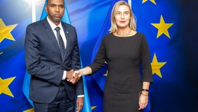 Photo of Somali Prime Minister Meets With Federica Mogherini In Brussels Of Belgium