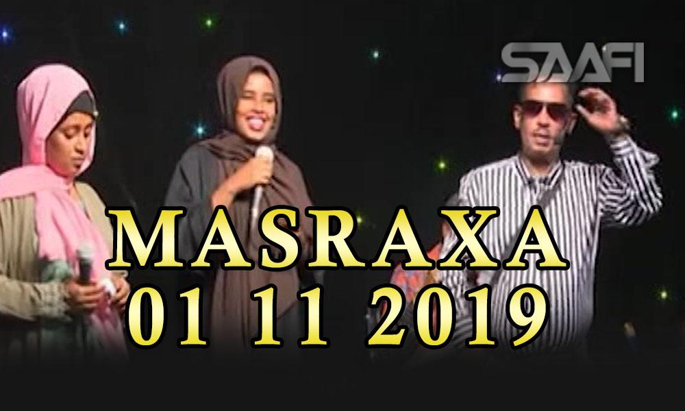 MASRAXA FURAN 01 11 2019 Majaajilo qosol iyo dhalinyaro codkooda iyo heesahooda tijaabinaya