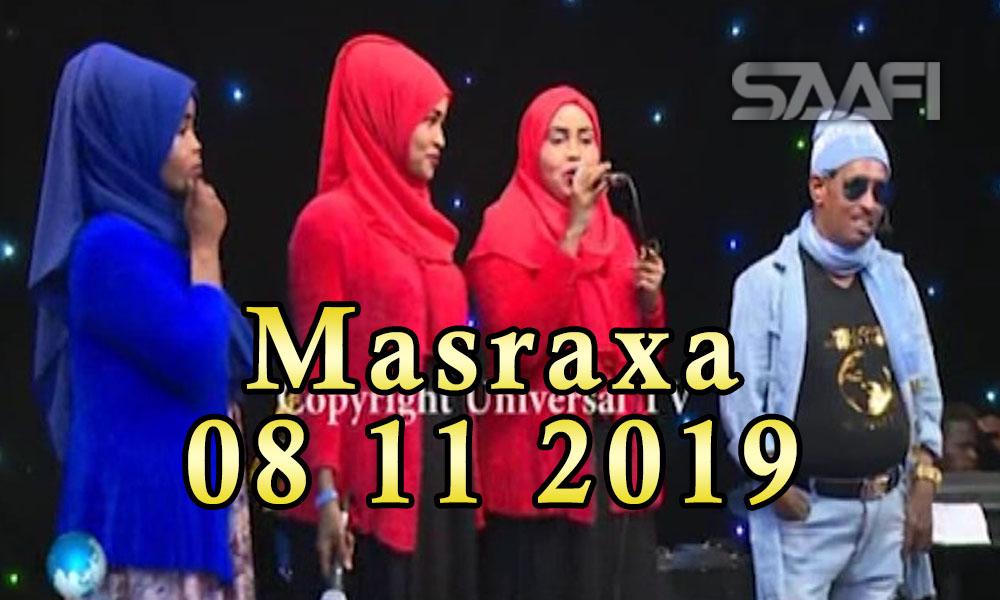 MASRAXA FURAN 08 11 2019 Majaajilo qosol iyo dhalinyaro codkooda iyo heesahooda tijaabinaya