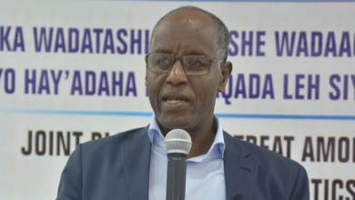 Photo of Somali Govt Says Ready To Negotiate With Ahlu Sunna