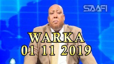 Photo of WARKA 01 11 2019 Dowlada Soomaaliya oo hada shaaca ka qaaday heshiis qarsoodi ahaa oo Ahlu Suna ay la gashay