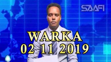 Photo of WARKA 02 11 2019 Dowlada iyo Ahlu Suna oo dagaal qaraar dhex maray iyo Ahlu Suna oo Matabaan laga qabsaday
