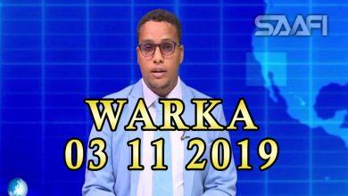 Photo of WARKA 03 11 2019 Dowlada Soomaaliya oo gebi ahaan kala wareegtay Ahlu Suna deeganadii ay maamuleysay