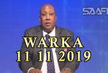 Photo of WARKA 11 11 2019 Labo gabdhood oo Soomaali ah oo guul kasoo hooyey doorashooyin dhowaan ka dhacay dalka Mareykanka