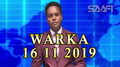 Photo of WARKA 16 11 2019 Madaxweyne Muuse Biixi Cabdi oo sheegay in dowlada Farmaajo uu hogaamiyo ay ku heyso dagaal siyaasadeysan