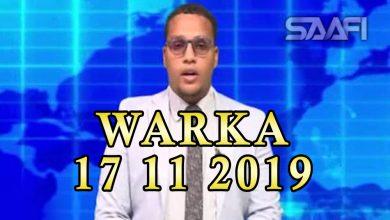 Photo of WARKA 17 11 2019 Gudoomiyaha xisbiga Wadani Ciro oo ku dhawaaqay dibadbax iyo taliyaha booliiska hanjabay