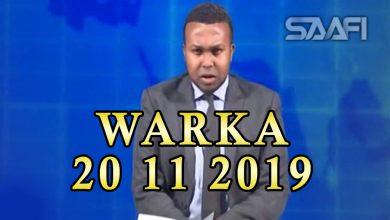 Photo of WARKA 20 11 2019 Madaxweynayaashii hore iyo madaxweyne Farmaajo oo kulan yeeshay iyo madaxweynayaashi hore oo ka hadlay