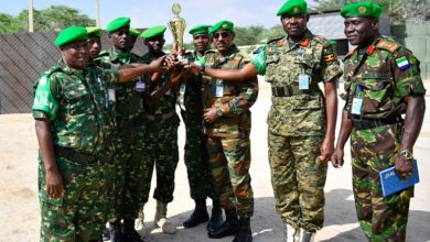 Photo of AMISOM honors staff officers for security efforts in Somalia