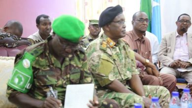 Photo of Somali National Army Soldiers Receive Security Sector Reform Training