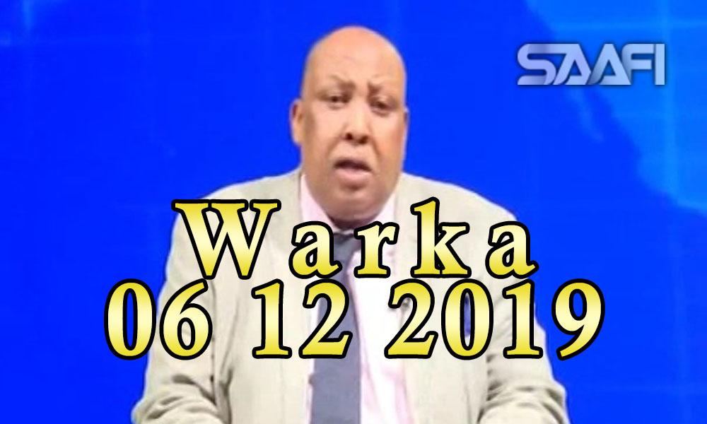 Photo of WARKA 06 12 2019 Qaramada Midoobay oo sheegtay in qeybo Soomaaliya ka mid ah ay ku soo fool leedahay duufaan xoogan