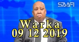 WARKA 09 12 2019 Odayaasha iyo waxgaradka Galmudug oo ku baaqay in la joojiyo colaadaha kasoo cusboonaaday Galmudug
