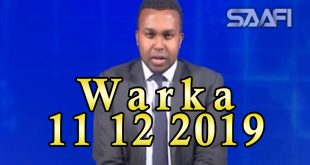 WARKA 11 12 2019 Xildhibaanada baarlamaanka oo dood kulul ka yeeshay arimaha doorshooyinka iyo fatahaadaha webiyada