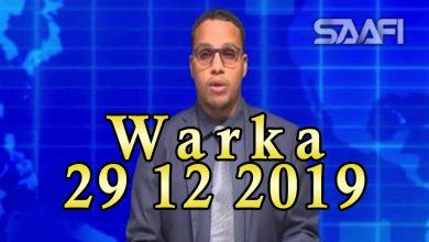Photo of WARKA 29 12 2019 Dowlada Turkiga oo Soomaaliya usoo dirtay diyaarad siday dhaqaatiir iyo gargaar caafimaad oo tiro badan