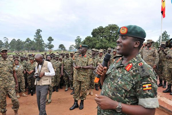 Photo of UPDF Soldiers In Somalia Urged Not To Relax During Christmas