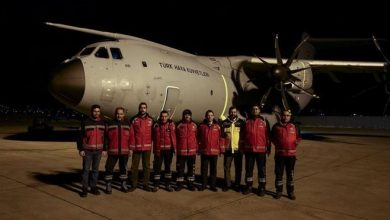 Photo of Turkish plane takes off to bring wounded from Somalia