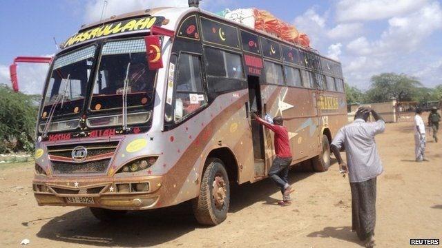 Photo of Al-Shabab suspects ambush Kenyan commuter bus