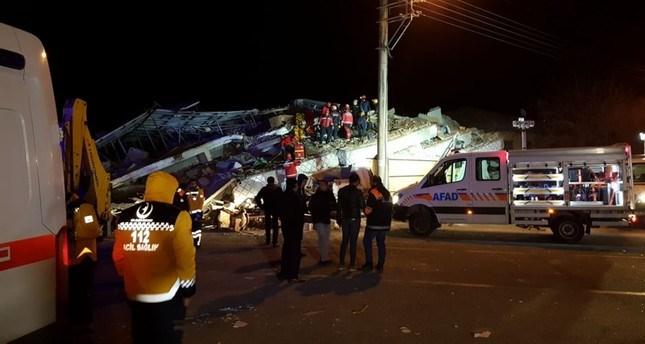 Photo of 18 dead, 553 injured as massive quake of magnitude 6.8 rocks Turkey's Elazığ