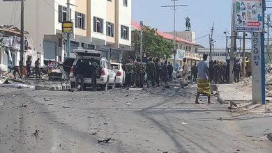 Photo of Blast Near Somalia's Parliament In Mogadishu