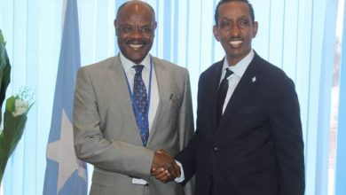 Photo of Somalia's Minister Of Foreign Affairs Meets With Top UN Official