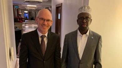 Photo of UN Envoy Meets With Former Somali President