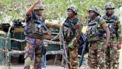 Photo of Kenyan Police Hunting Al-Shabab Militants In Border Region